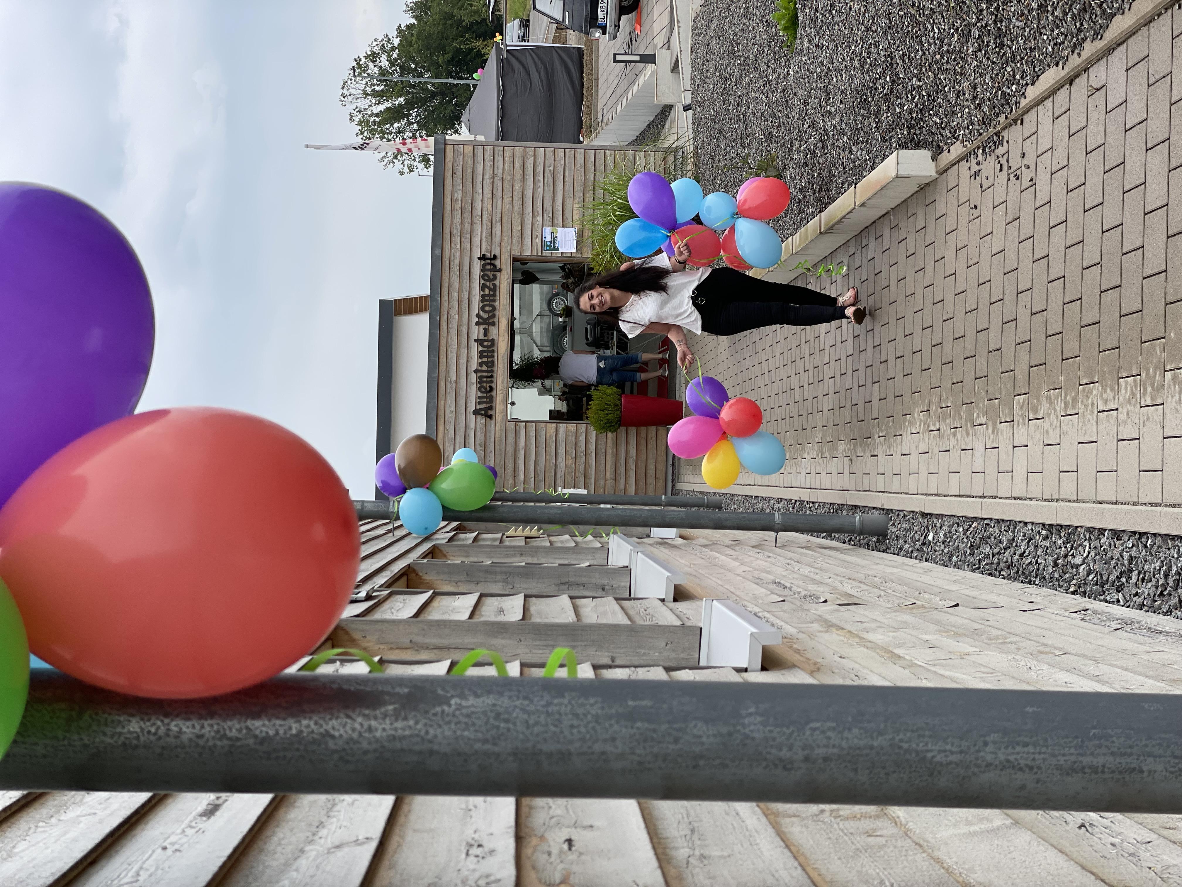 Luftballons-Miriam