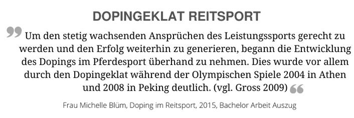 Dopingeklat-Reitsport